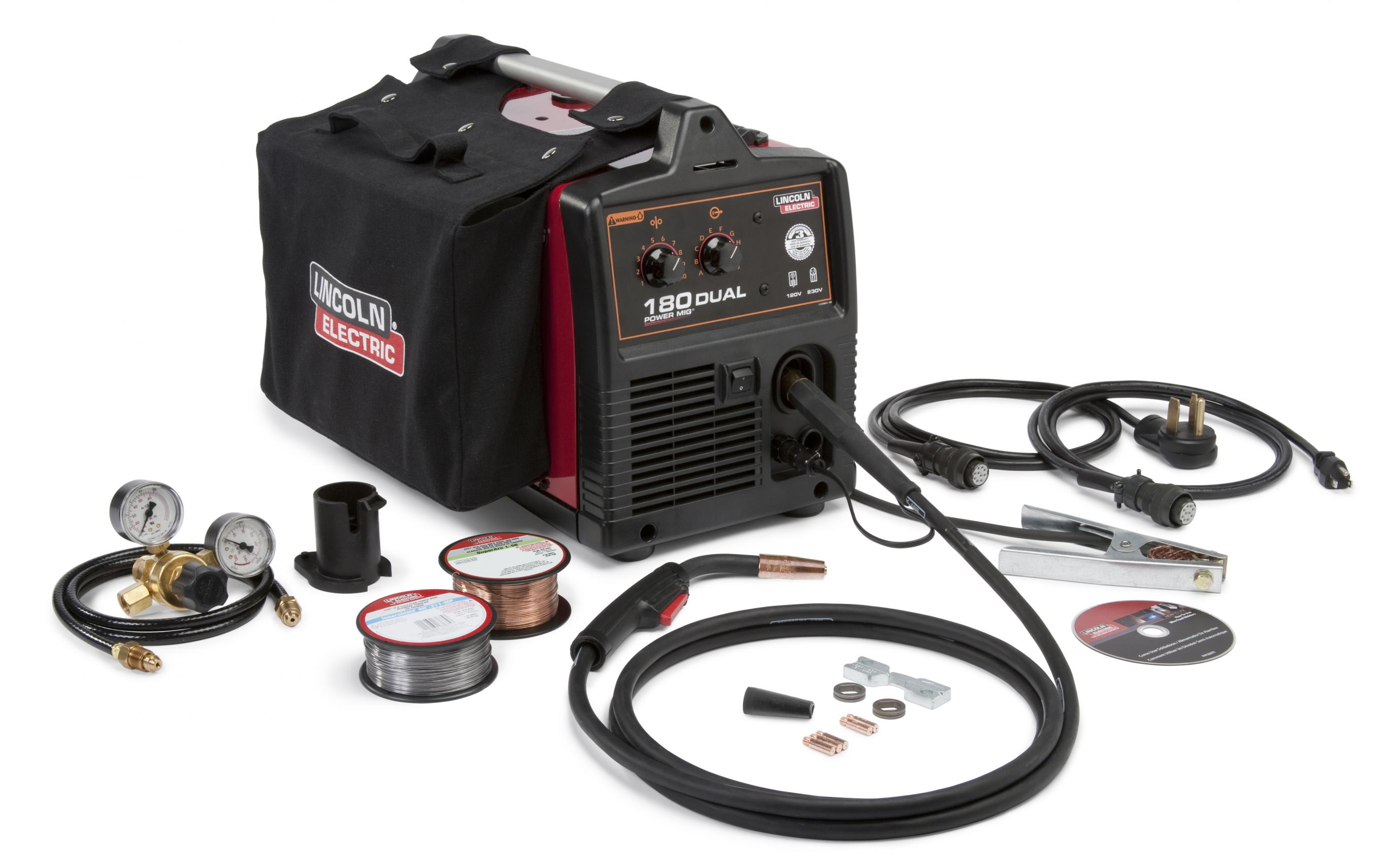Classic Shop Talk Welding Technical Help From Lincoln Electric Wiring A Welder Electrics Popular Power Mig Wire Line Long Time Favorite Of Professional Small Welders Now Includes The 180 Dual Model