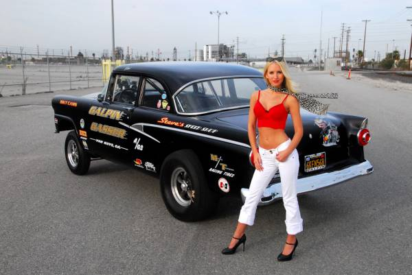 Gasser mad by steve Carpenter at Galpin Ford LA